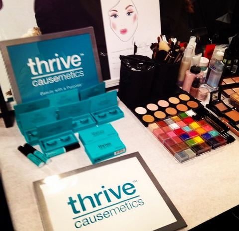 New York Fashion Week Backstage Thrive Causemetics