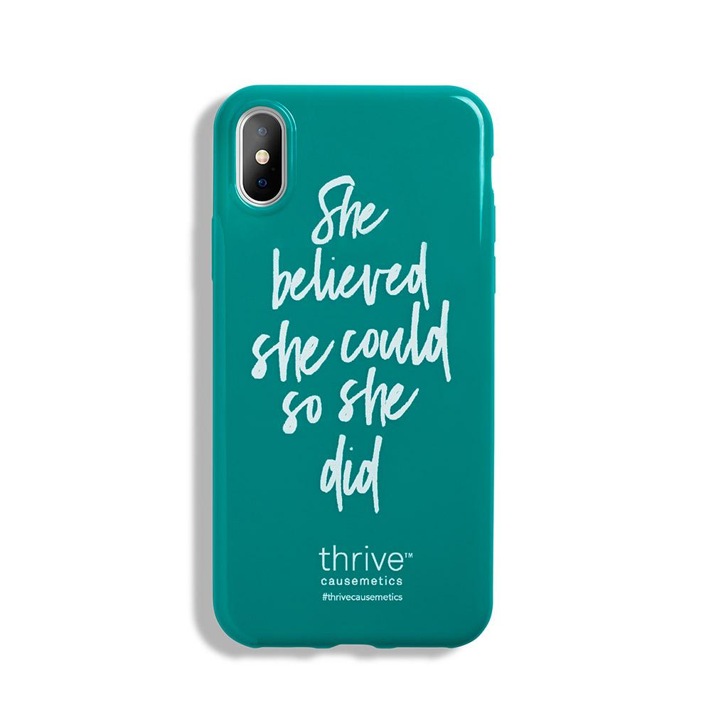 She Believed iPhone Case product image