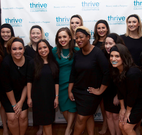 Thrive Causemetics New York Fashion Week Models