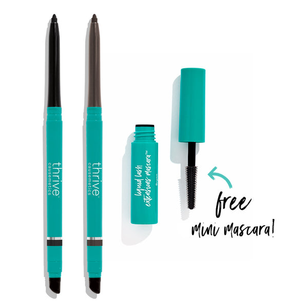 Two Eyeliners + Free Mini Mascara