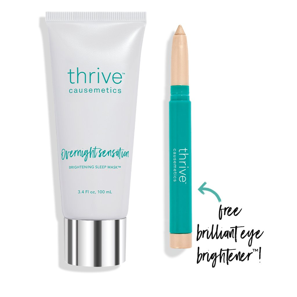 Overnight Face Mask and Brilliant Eye Brightener