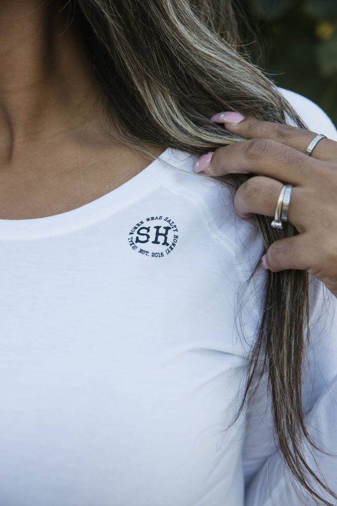 SH LONG SLEEVE in White