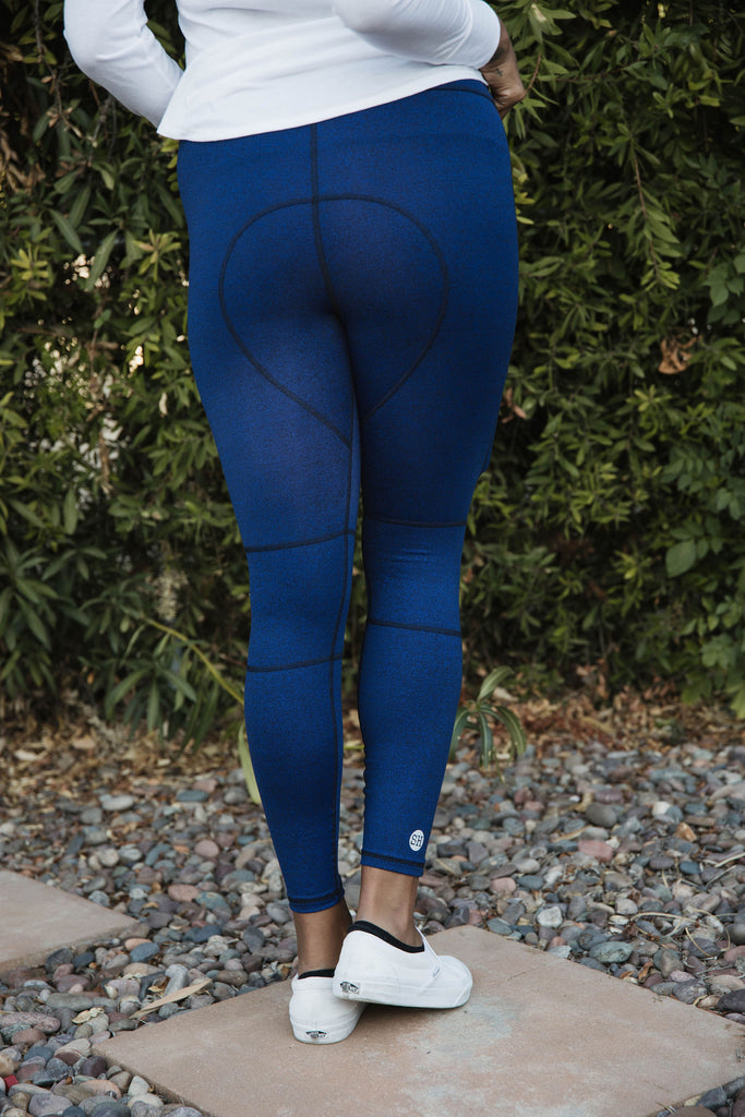 SKINNY JOGGER PANT in AZURE BLUE