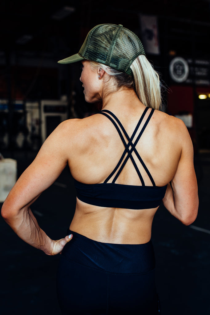 STRENGTH strappy bra