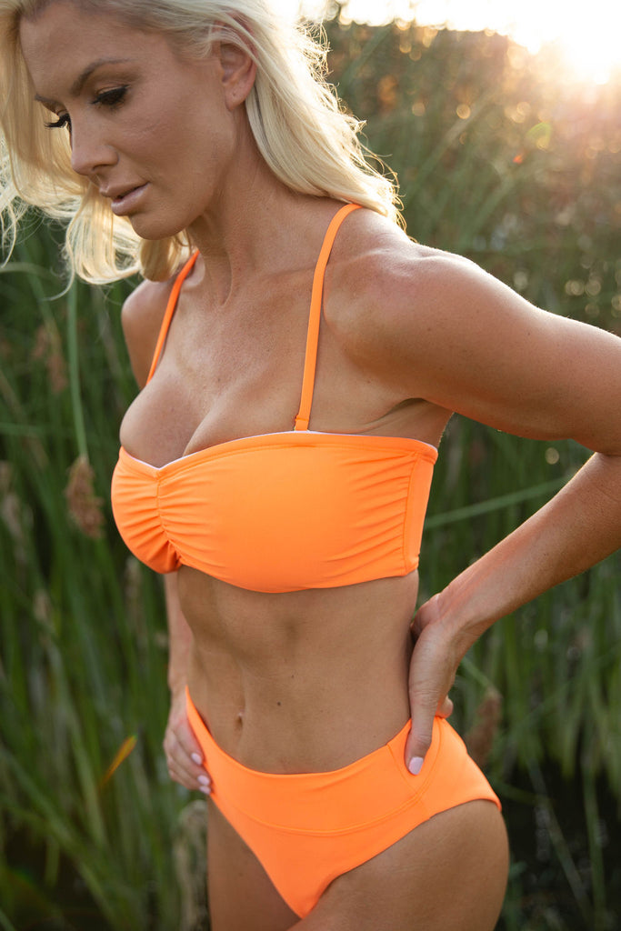 BANDEAU TOP in SUNKIST