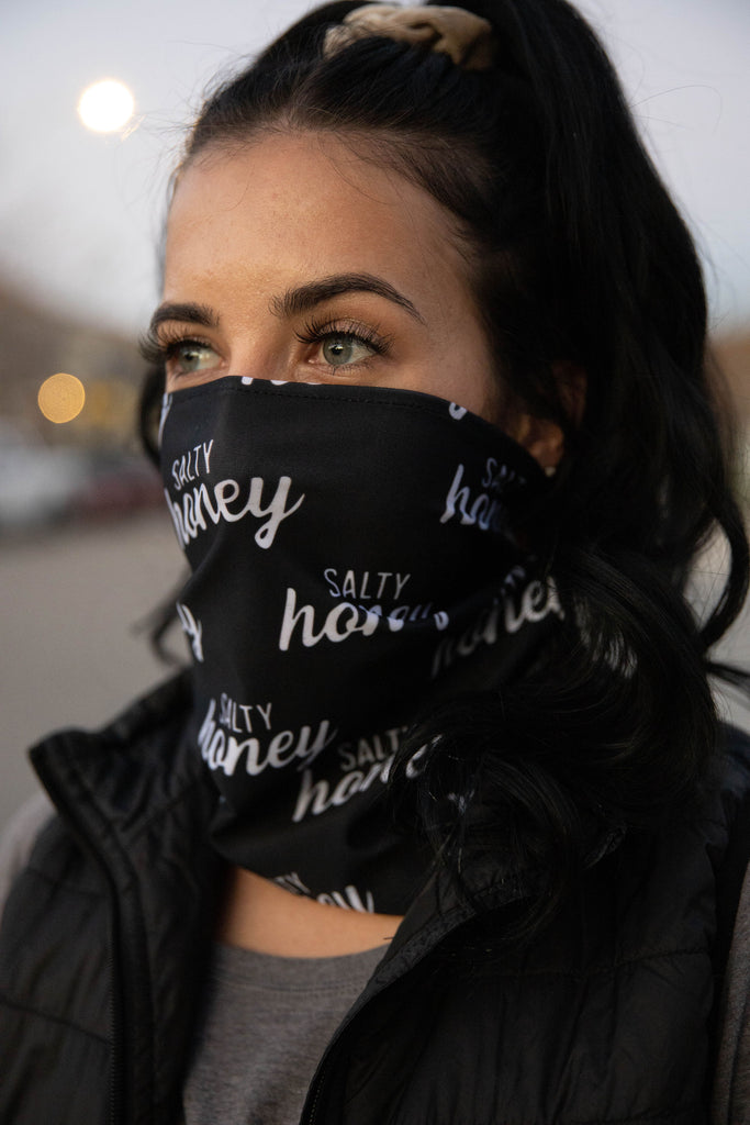 NEW SALTY HONEY NECK GAITER