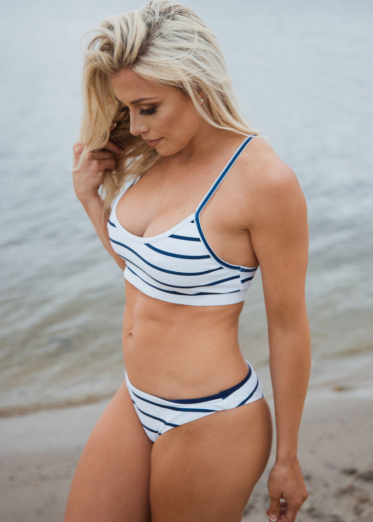 ANCHORED racerback top