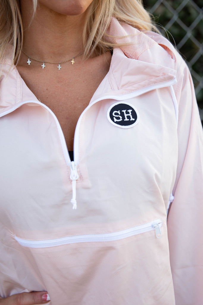 WINDBREAKER in PINK/BLUSH