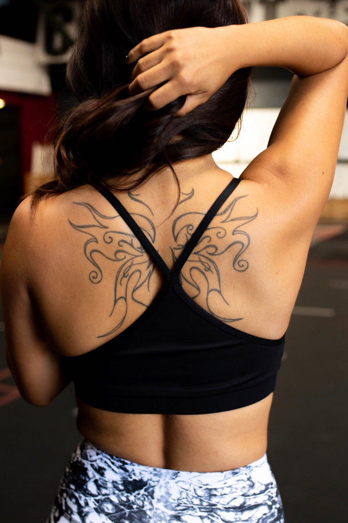 STRENGTH racerback bra