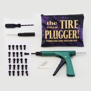 "Stop & Go Tubless Tyre Plugger in zip Pouch with (25) ¾"" plugs"