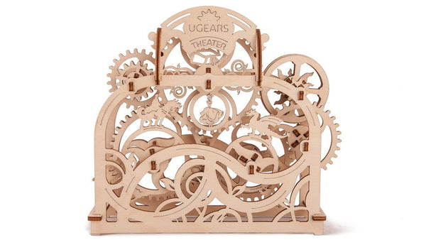 "UGEARS - Mechanical Wooden 3D Puzzle / Model Functional ""Mechanical Theatre"""