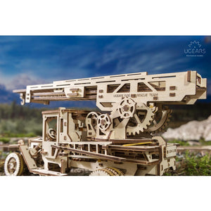 UGears 70017 Fire Truck - 3DWooden Puzzles/Mechanical