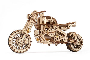 UGears 70137 Mechanical Wooden 3D Puzzle / Model Functional SCRAMBLER UGR-10