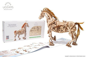 UGears 70035 Mechanical Horse Wooden model Laser Cut