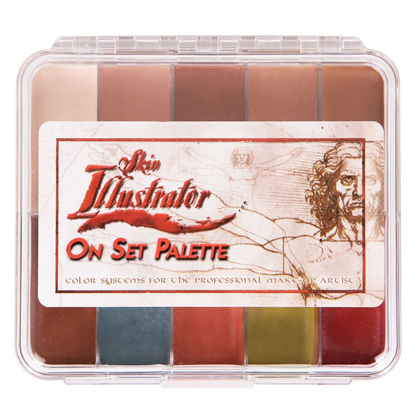 On-Set Fleshtone Palette