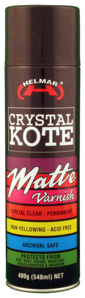Crystal Kote Matte Varnish