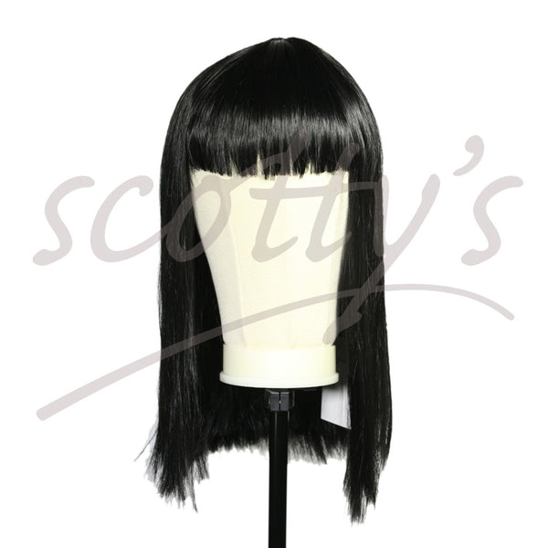 Wig - Long & Straight with Fringe