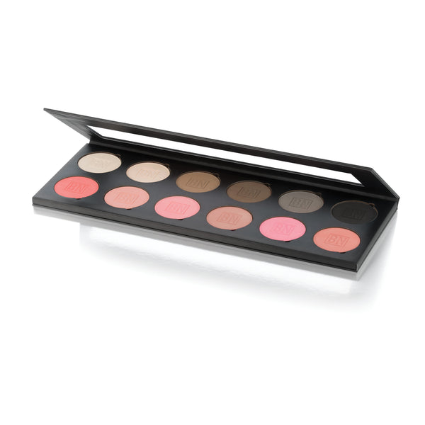 Essential Eyeshadow & Rouge Palette 12p
