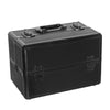 Cosmetic Case Aluminium Black