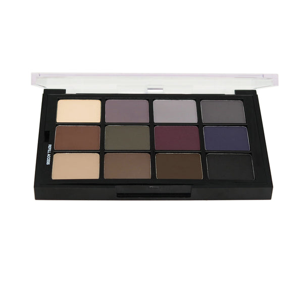 Studio Colour Cool Glam Shadow Palette 12p