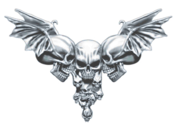 HookUp Tattoo Winged Skull