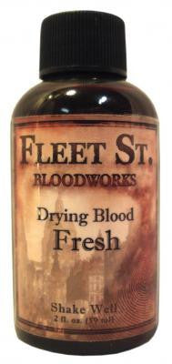 Fleet Street Bloodworks Fresh Drying Blood