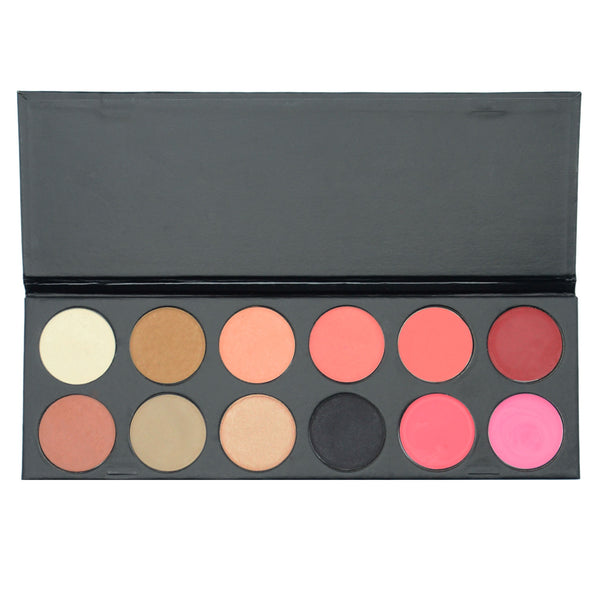 Scotty's Eye, Rouge & Lip Palette 12p