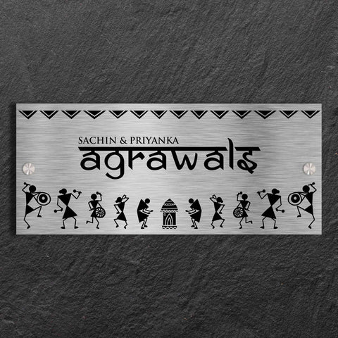 Warli-Stainless-Steel-Name-Plate