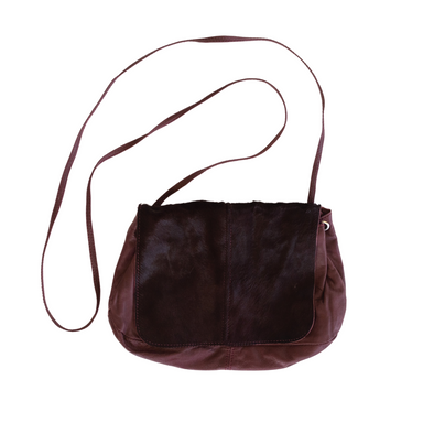 Leather Crossbody Bag - ODELIA