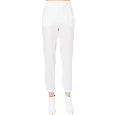 Signature Relaxed Silk Pant - RAUBERT