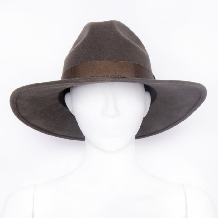 Dallas Fedora Hat - moss / medium