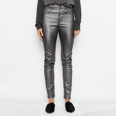 Paco Stretch Leather Jeans