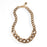 Thick Chain Necklace- Brass Plated