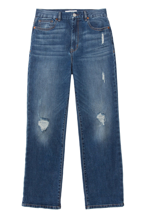 innovative design online here limited sale Haven High Rise Straight Ankle Jeans