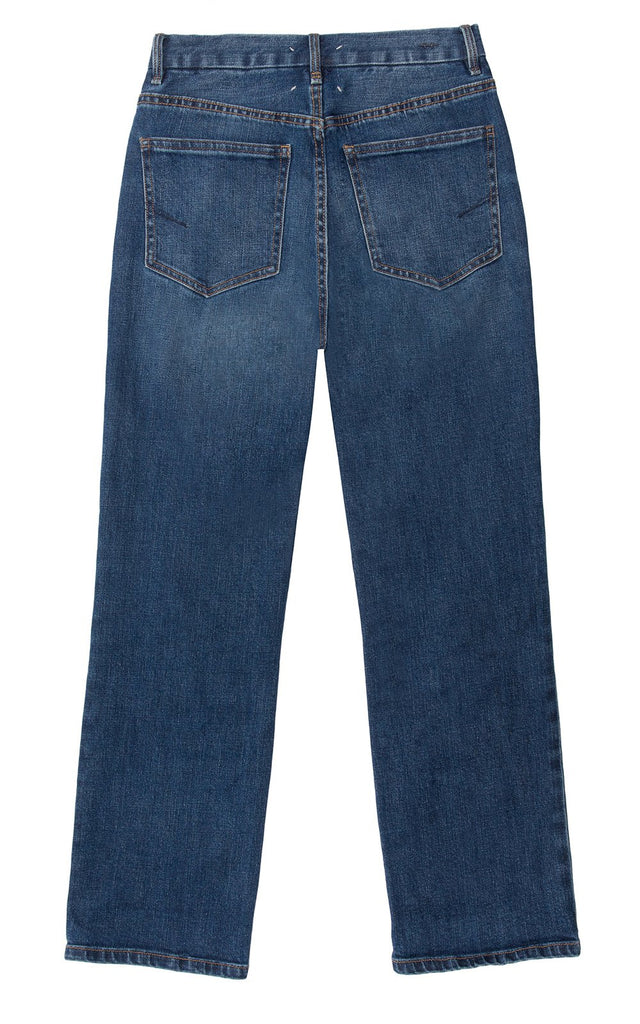 Haven High Rise Straight Ankle Jeans