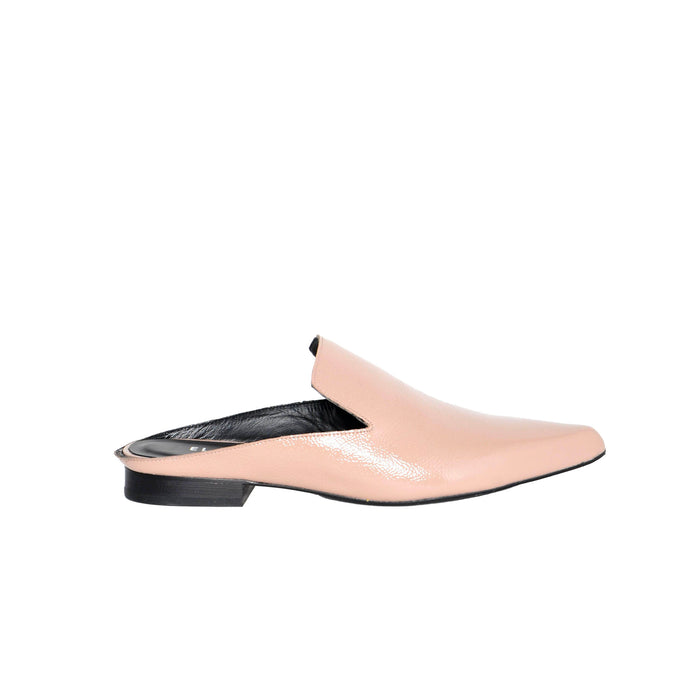 Patent Leather Open Back Loafer SAMMI by Elaine Kim
