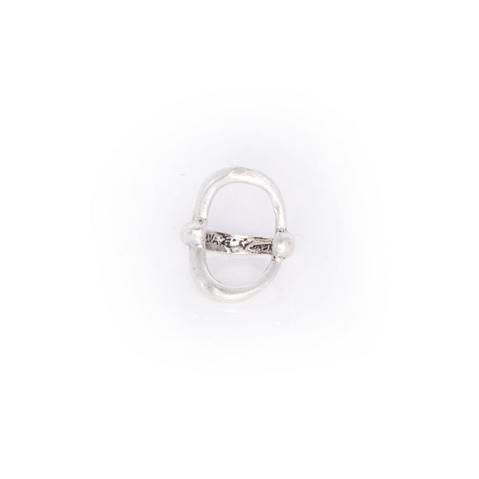 Open Wide Circle Ring - silver / 7 - silver / 8