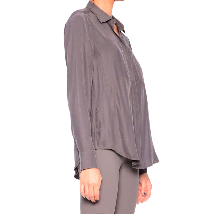Silk Blouse with Pockets Rossmore