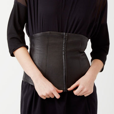 Orchid Corset Belt-Belt-Elaine Kim-Elaine Kim Studio-travel wardrobe-office casual-independent designer
