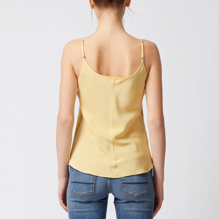Hennessey Sequin Silk Camisole-Top-Elaine Kim-Elaine Kim Studio-travel wardrobe-office casual-independent designer