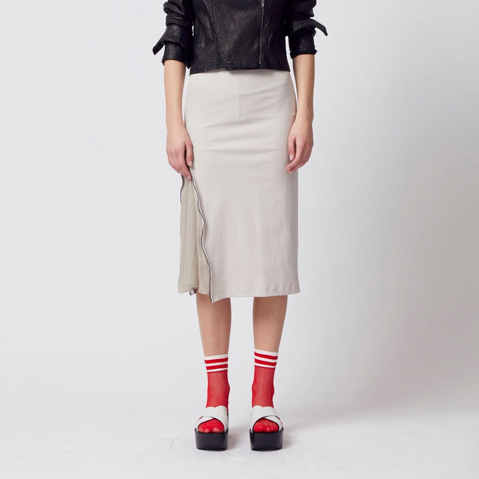 Phineus Tech Stretch Pencil Skirt-Skirt-Elaine Kim-Elaine Kim Studio-travel wardrobe-office casual-independent designer