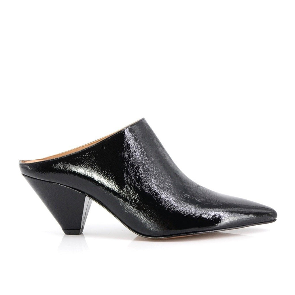Elaine Kim Rhea Slip On Mule on Triangle Heel