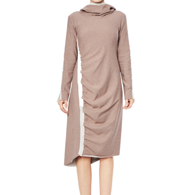 Fleece Dress with Hood - ROCKY