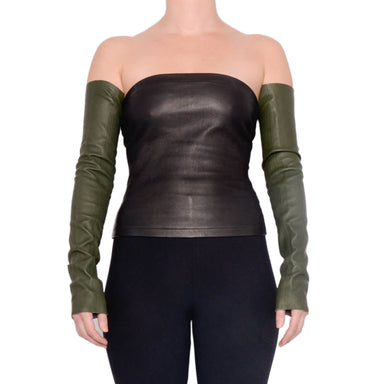 Doria Leather Sleeves