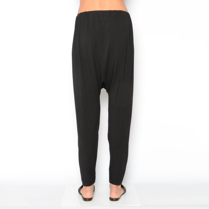Nadal Jersey Drop Crotch Pant-Pant-Elaine Kim-Elaine Kim Studio-travel wardrobe-office casual-independent designer