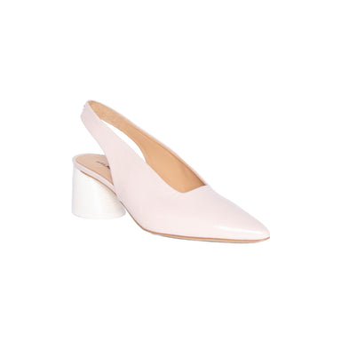 Halmanera Pointy Toe Sling Back Pumps
