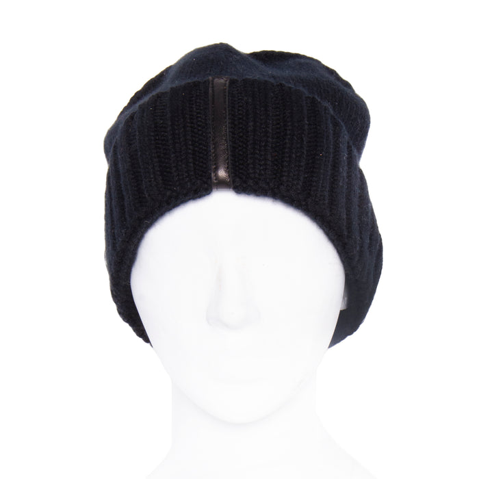 Rochester Cashmere Beanie - Black / OS