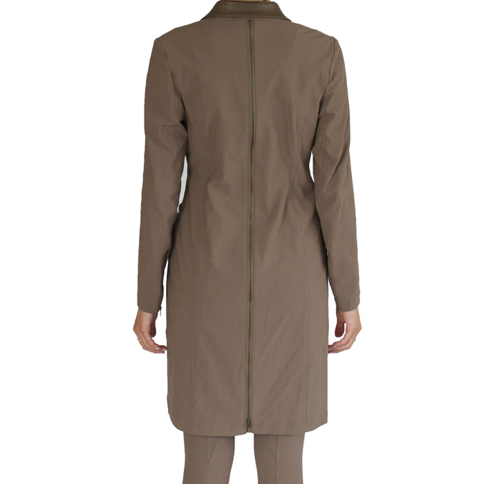 Tech Stretch Convertible Coat Dress - SAWYER