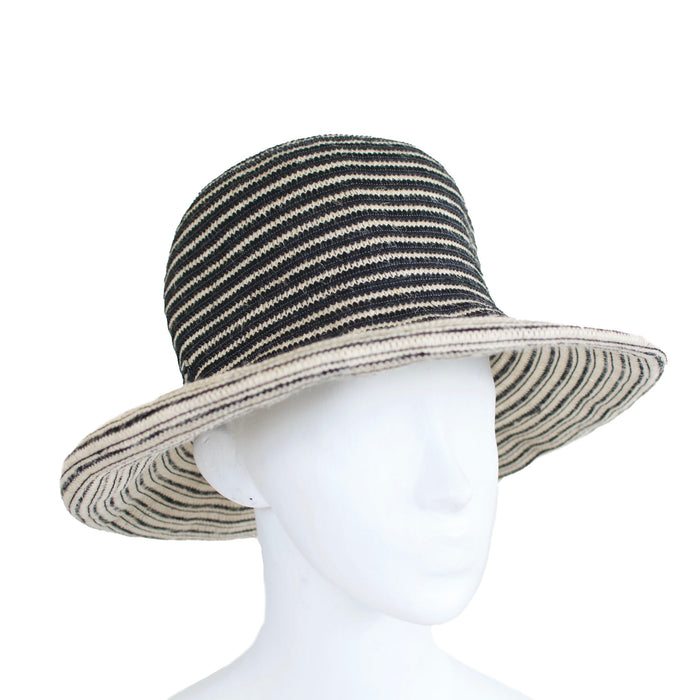 Stripe Jute Hat by Gi N Gi