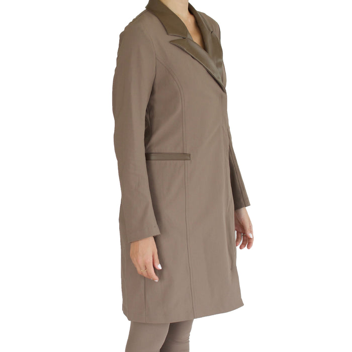 Tech Stretch Convertible Coat Dress Sawyer